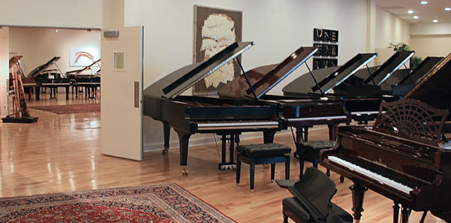 Piano as art gallery image